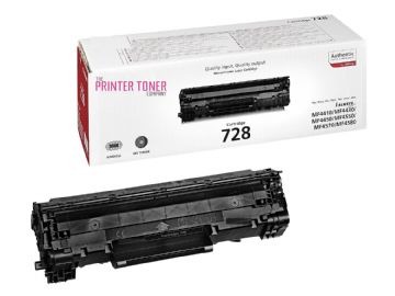 Canon CRG 728 Black Refurbished Toner Cartridge 3500B002AA